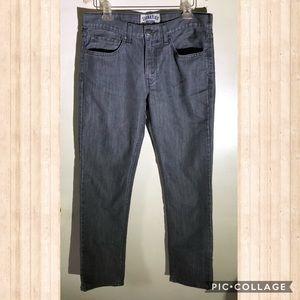 Men's Levi's gray signature skinny fit jean 34x32